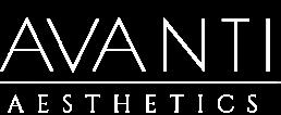 Avanti Aesthetics Clinic white logo